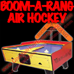 florida arcade game party rental boom-a-rang air hockey