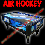 florida arcade game air hockey party rental