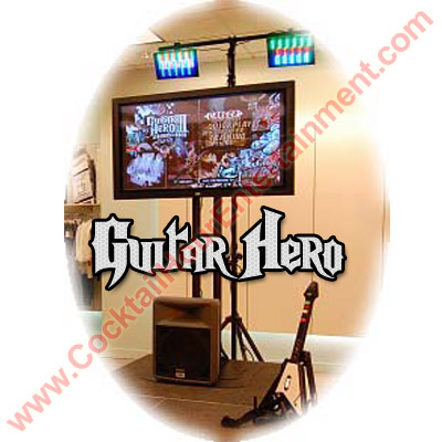 arcade game guitar hero party