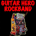 florida arcade game guitar hero rockband button