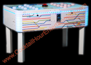 florida arcade game led light button game