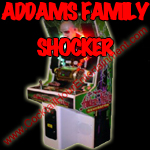 florida arcade game addams family game