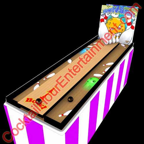 carnival mini bowling game