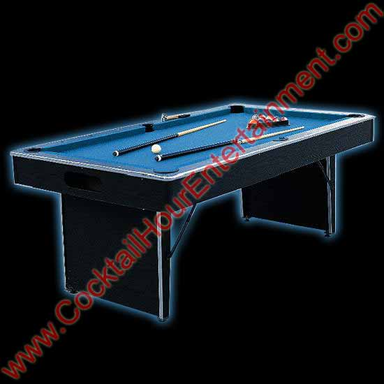 florida pool table  rental