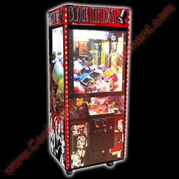 arcade rental claw machine grabber