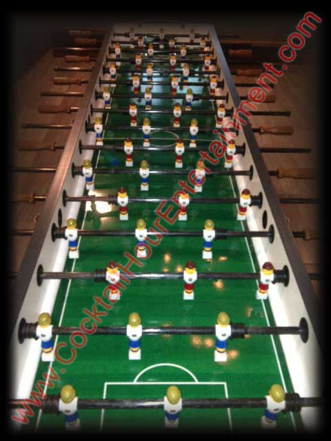 florida foosball arcade game rental